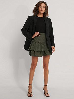 Kjolar - Trendyol Minikjol Med Krås grön