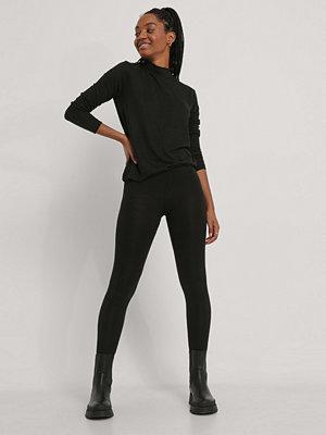 Leggings & tights - NA-KD Basic Tights svart