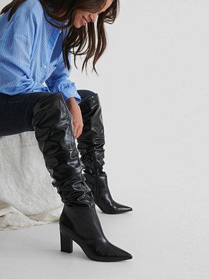 NA-KD Shoes Vida Höga Stövlar svart