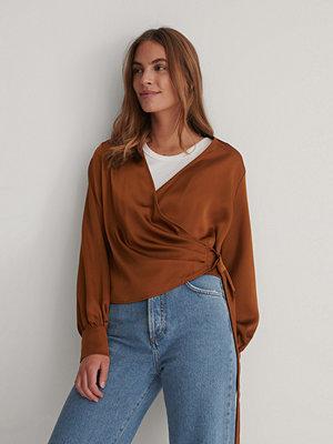 Trendyol Omlottblus brun