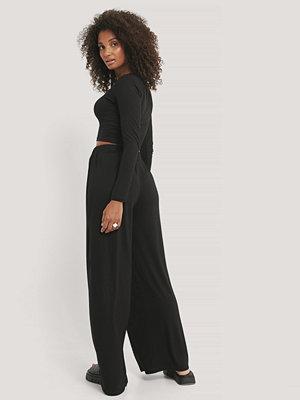 Trendyol svarta byxor Loungeset svart