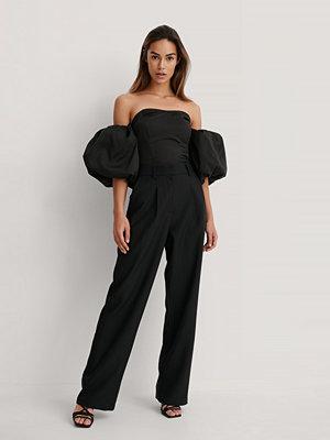 NA-KD Trend Vida Kostymbyxor svart svarta