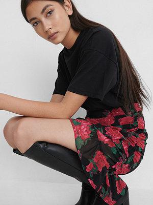 Kjolar - NA-KD Boho Transparent Minikjol multicolor