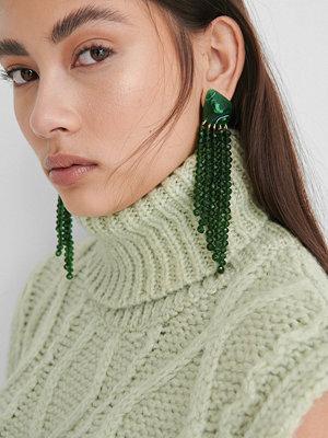 NA-KD Accessories smycke Örhängen grön