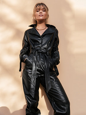 Jumpsuits & playsuits - Gine Margrethe X NA-KD Jumpsuit svart