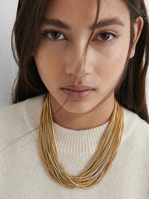 NA-KD Accessories smycke Kedjechoker guld
