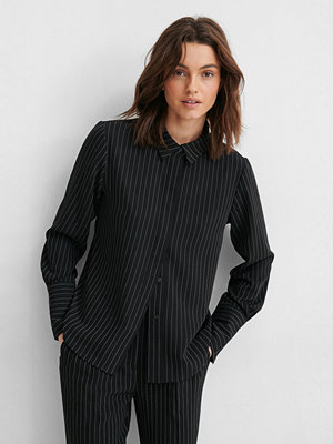 NA-KD Reborn Oversize Skjorta svart