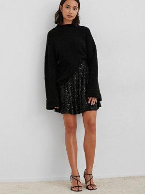 NA-KD Party Minikjol Med Paljetter svart