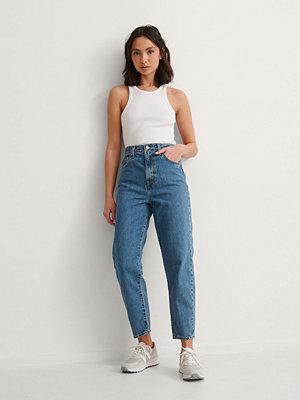 Levi's High Loose Taper Jeans blå