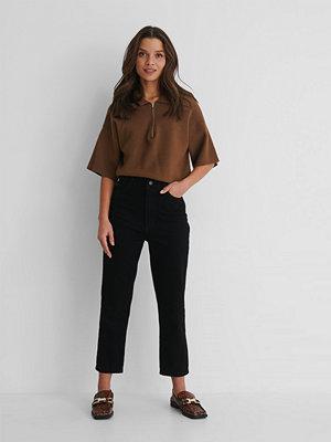 Trendyol Mom-Jeans Med Hög Midja svart