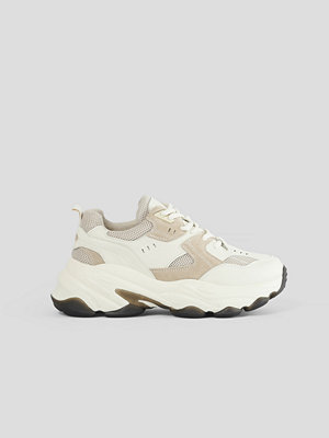 Sneakers & streetskor - NA-KD Shoes Trainers Med Sula beige