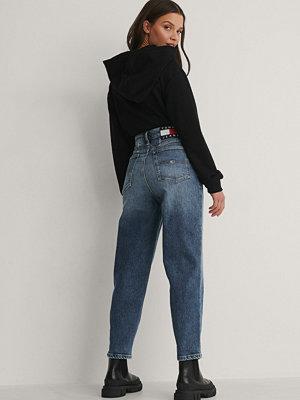 Jeans - Tommy Jeans Mom-Jeans Med Hög Midja blå