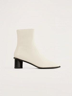 Boots & kängor - NA-KD Shoes Boots vit