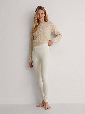 NA-KD Basic Leggings offvit