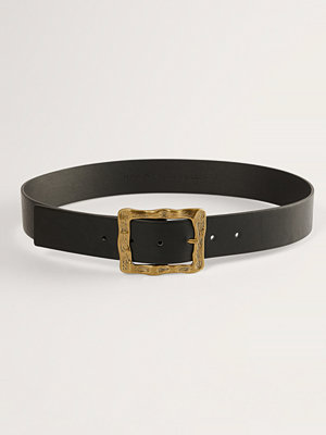 NA-KD Accessories Bälte Med Spänne svart