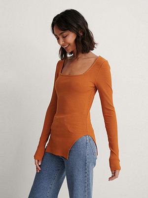 NA-KD Topp orange