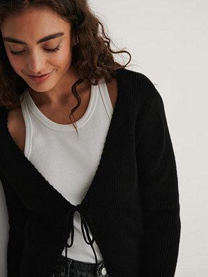 Trendyol Stickad Cardigan svart