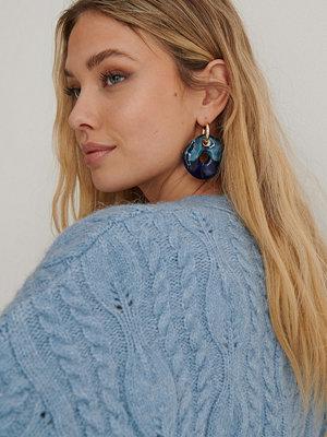 NA-KD Accessories smycke Örhängen blå