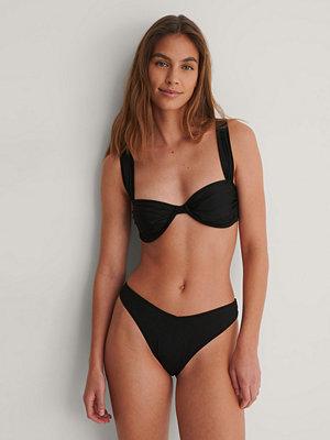Bikini - NA-KD Reborn Recycled Bikiniunderdel svart