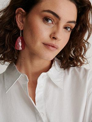 NA-KD Accessories smycke Droppörhängen rosa