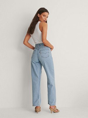 Levi's Loose Straight Jeans Low Bow blå