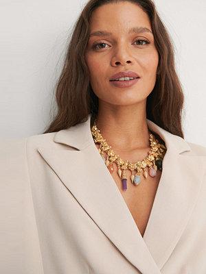 NA-KD Accessories smycke Stenhalsband guld
