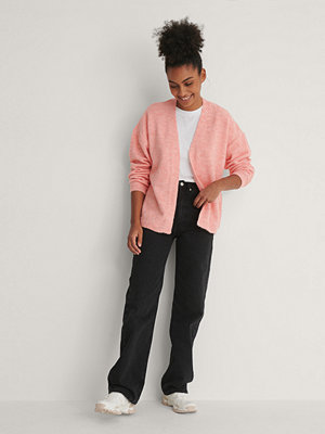 Trendyol Amy Knit Cardigan rosa