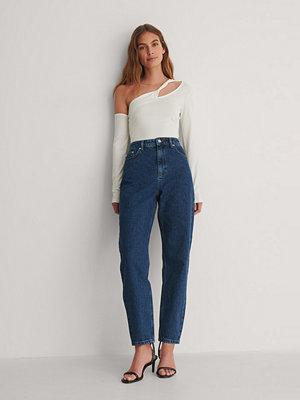 NA-KD Trend Mom-Jeans blå