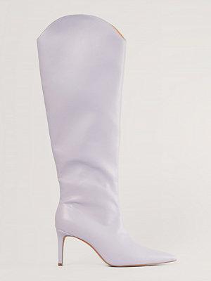 Boots & kängor - NA-KD Shoes Boots lila