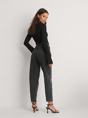 Mango Mom-Jeans svart