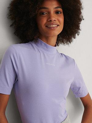 Calvin Klein Ekologisk T-shirt lila