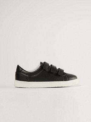 NA-KD Shoes Sneakers Med Kardborreband svart