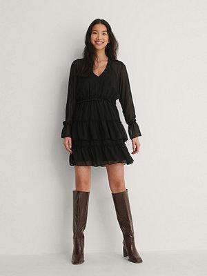 Trendyol Miniklänning I Mesh svart