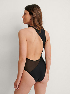 Baddräkter - NA-KD Swimwear Recycled Baddräkt svart