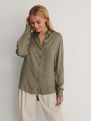 NA-KD Skjorta grön