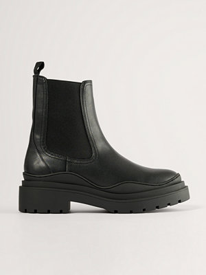 Boots & kängor - Mango Ankelboots svart