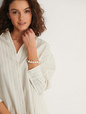 NA-KD Accessories smycke Grovt Pärlarmband guld