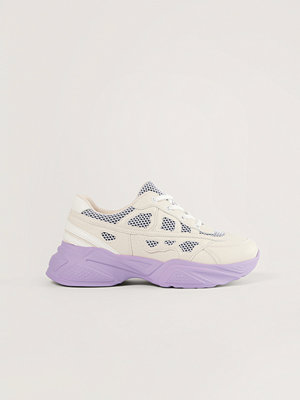 Sneakers & streetskor - NA-KD Shoes Structured Upper Sneakers lila