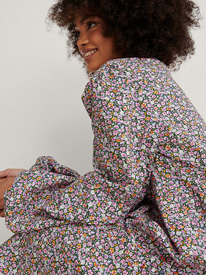 NA-KD Boho Miniklänning multicolor