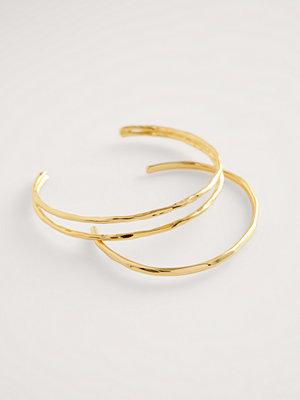 NA-KD Accessories smycke Guldpläterat Armbandsset guld