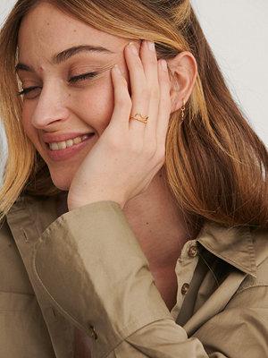 NA-KD Accessories smycke Guldplätering Ring guld