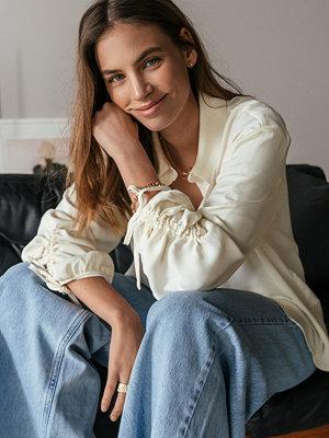 NA-KD Trend Skjorta Med Detaljer vit