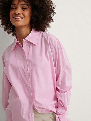 Skjortor - NA-KD Classic Oversize Skjorta rosa