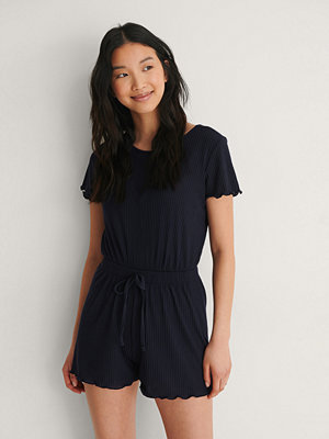 Jumpsuits & playsuits - Trendyol Playsuit blå