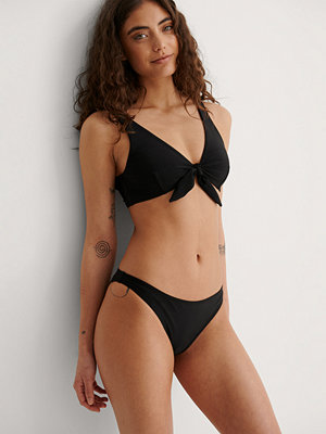 Bikini - NA-KD Swimwear Återvunnen Klassisk Bikinitrosa svart