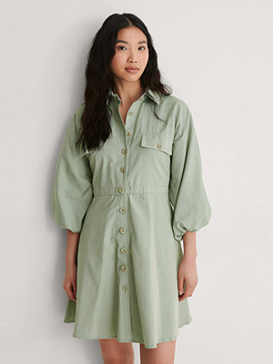 Trendyol Miniskjortklänning grön