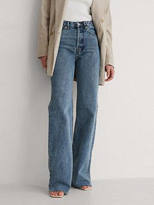 Mango Ariadna Jeans blå