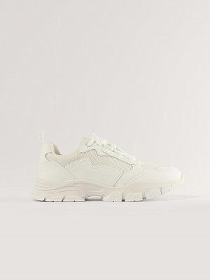 NA-KD Shoes Low Trekking Sneakers vit