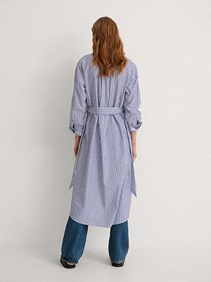 Mango Skjortklänning blå