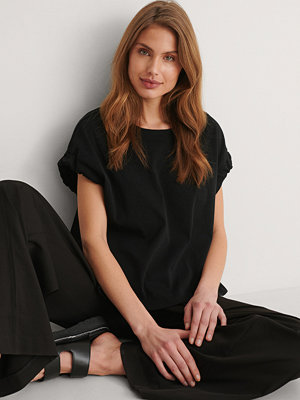 Mango T-Shirt svart